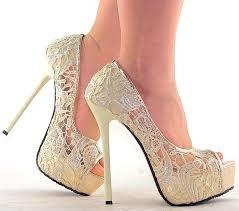 wedding shoes platform princess pretty soft lace wedding shoes platform open toes