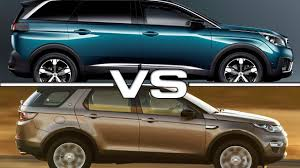peugeot 2 door sports car peugeot 5008 vs land rover discovery sport youtube
