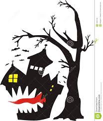 haunted houses clipart scary tree house clipart collection