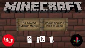 Hunger Games Minecraft Map Caving Hunger Games Map Minecraft Ps3 Minecraftps3maps