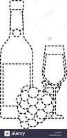 black and white champagne bottle clipart bunch of grapes black and white stock photos u0026 images alamy