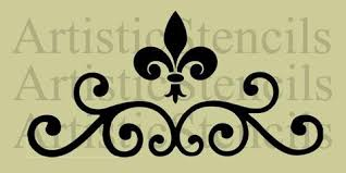 ornaments scroll stencils artistic stencil designs