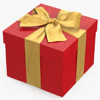 gift box gift box 3d models for turbosquid