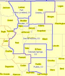 colorado population map colorado decision information resources
