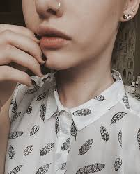 grunge earrings black blacknail cross earring earrings image 3541699 by