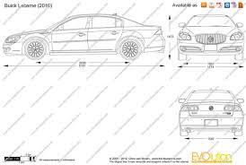 the blueprints com vector drawing buick lucerne