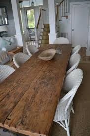 White Distressed Dining Table Dining Tables Reclaimed Wood Counter Height Table Farmhouse