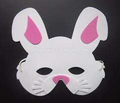 bunny mask foam bunny mask buy rabbit mask animal mask foam