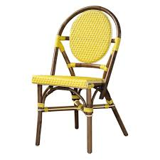 Yellow Bistro Chairs Bistro Chairs In Every Color Venzedits