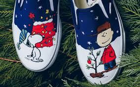 peanuts brown christmas vans releases new a brown christmas shoes footwear news