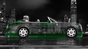 roll royce green rolls royce phantom coupe side crystal city car 2014 el tony