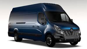 renault master 2011 renault master l4h3 van 2017 3d model in van and minivan 3dexport