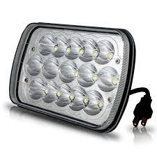 nissan headlights 7x6 led headlights hid bulbs crystal clear sealed beam for nissan