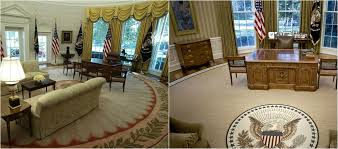 this is first thing donald changed in oval office
