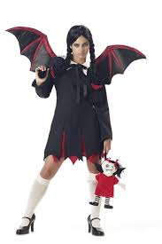Wednesday Addams Costume Women U0027s Very Bat Wednesday Addams Costume Small 6
