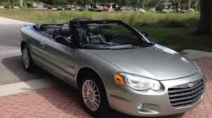 2005 chrysler sebring touring convertible view our current