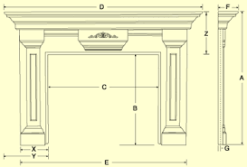 standard height for fireplace mantel astonishing plans free garden