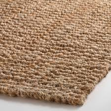 5 Foot Square Rug Natural Basket Weave Jute Rug World Market