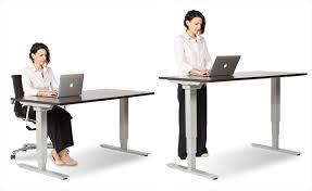 adjustable desks for standing and sitting office furniture solution centre