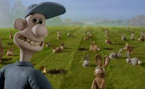 easter eggs wallace gromit curse rabbit