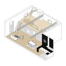 Industrial Loft Floor Plans Industrial Loft Grober Meta Studio Archdaily