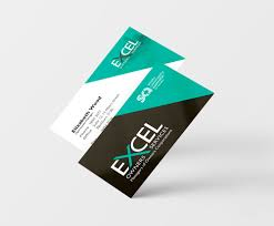business card exle excel business card the wizarts