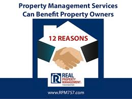 12 reasons property management services can benefit property owners