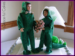 dinosaur wedding cake topper wedding dress done this could be going away wedding