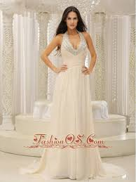 wedding dress creator halter top with beaded ruched bodice for beautiful prom dress