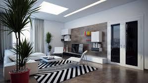 Modern Black And White Rug Living Room Black And White Striped Rug Ideas Black And White
