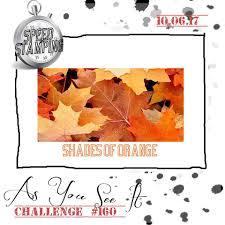 shades of orange as you see it challenge haste makes taste challenge 160