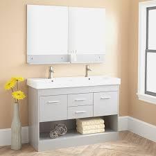 bathroom fresh brushed nickel mirror bathroom cool home design