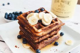 banana protein waffles a gluten free u0026 nut free recipe