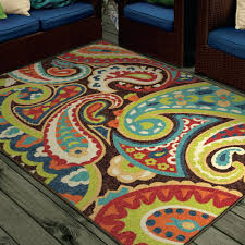 Neon Area Rug Decoration Lime Green Carpet Rugs Bright Colors Paisley Indoor
