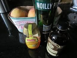 noilly prat vermouth vermouth roasted peaches the lit kitchen