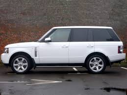 land rover autobiography white land rover range rover autobiography 4 4 td v8 1 owner big