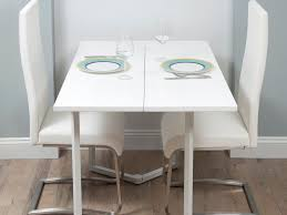 space saving dining table and 2 chairs space saver metal dining
