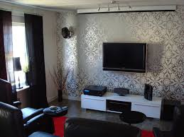 interior wallpaper for home living room tv setups
