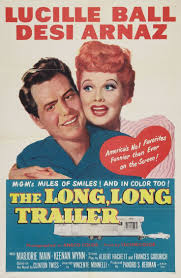 Desi Arnaz And Lucille Ball 66 Best The Long Long Trailer Images On Pinterest Lucille Ball