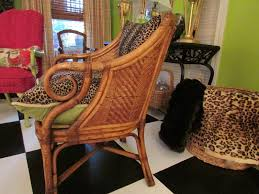 decor amazing vintage used henry link wicker furniture with