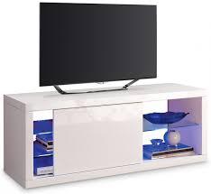 meuble elevateur tv meuble tv blanc et bleu u2013 artzein com