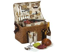 picnic basket for 2 plus woodstock 2 person picnic basket with insulated cooler