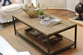 Coffee Tables Ideas Awesome Wood Coffee Table With Metal Legs Short