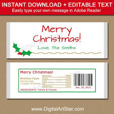christmas candy bar wrappers free template 2017 business plan