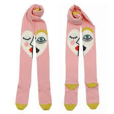 eye pattern tights raspberry plum girls face eye pattern tights children stockings tiny