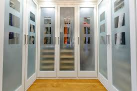 closet doors frosted glass frosted glass doors closet traditional with wood floor hardwood