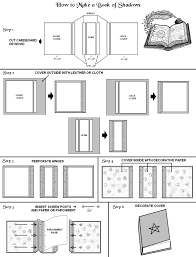 how to make a book of shadows photo step by step instructions on