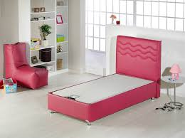 furniture bedroom extra long pink upholstered bed frame mixed