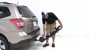 Subaru Forester Bike Rack by Review Of The Thule Hitch Bike Racks On A 2015 Subaru Forester