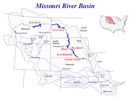 map of missouri river facts about the lower missouri river